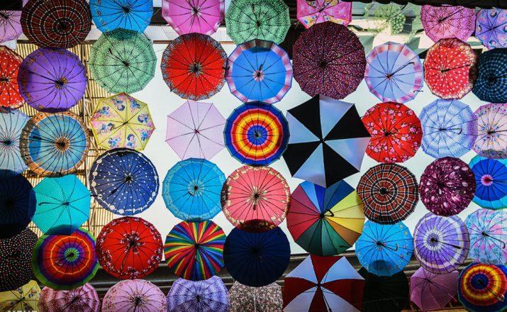 کوچه چترها
